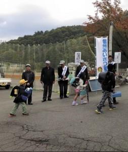 長野山ノ内ゆけむりライオンズのアクティビティ 信州あいさつ運動